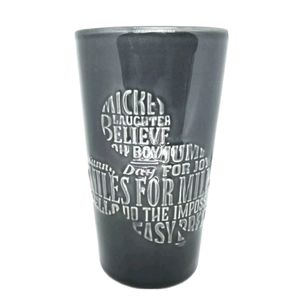 Disney Mickey Mouse Silhouette With Words Mug Tall